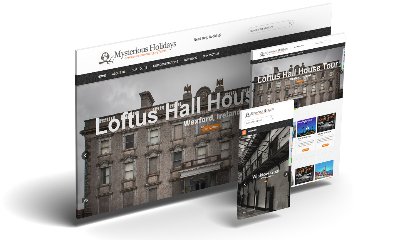 Mysterious Holidays & Melode Web Design & Digital Agency